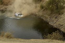 Choque de Ott Tanak y Molder Raigo, M-Sport Ford Fiesta WRC