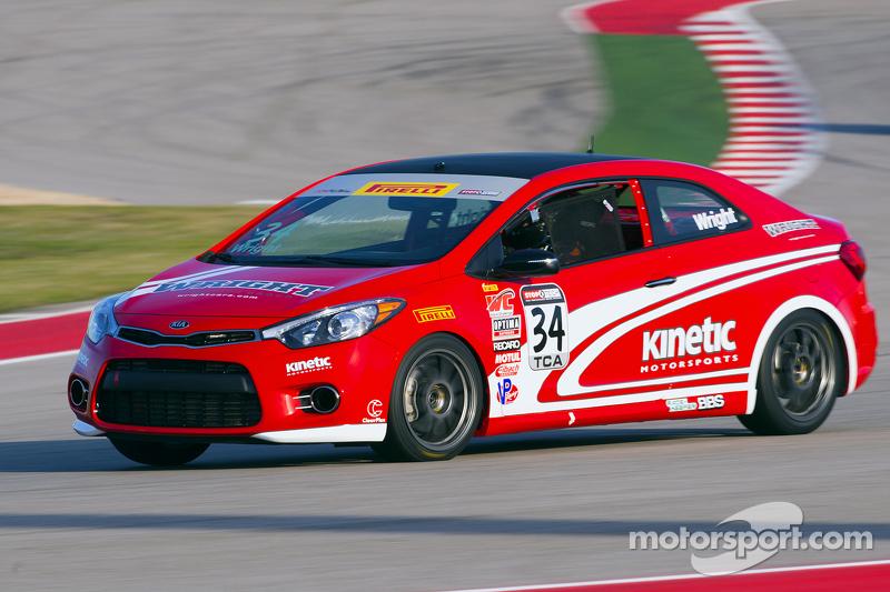 #34 Kinetic Motorsports Kia Forte Koup: Kris Wright
