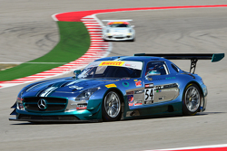 #54 Black Swan Racing Mercedes AMG SLS GT3: Tim Pappas