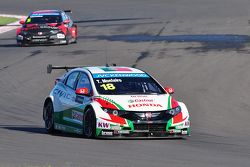 Tiago Monteiro, Honda Civic WTCC, Honda JAS Yarış Takımı