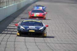 #112 Fort Lauderdale 法拉利458赛事中的法拉利赛车: Dan O'Neal