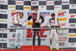 GTA-Podium: 1. Michael Lewis, 2. Frankie Montecalvo, 3. Ricardo Perez