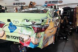 Das Unfallauto von David Ragan, Joe Gibbs Racing, Toyota