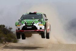 Benito Guerra et Borja Rozada, Ford Fiesta RS WRC
