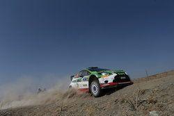 Benito Guerra and Borja Rozada, Ford Fiesta RS WRC