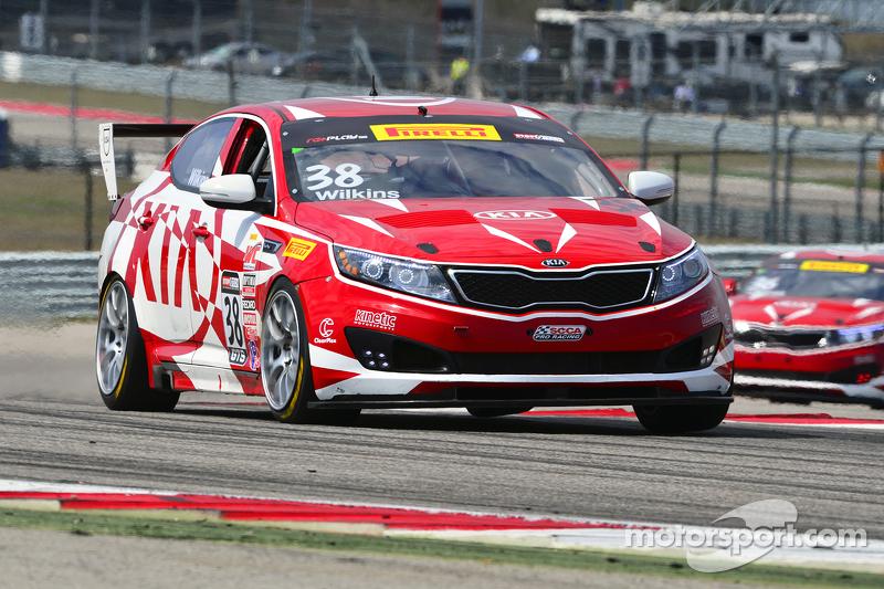 38 Kinetic Motorsports Kia Racing Optima Mark Wilkins
