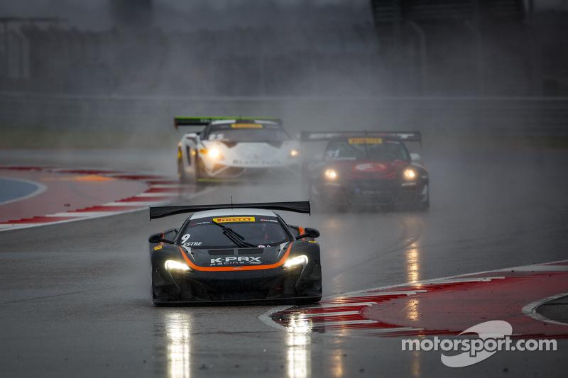 #9 K-Pax Racing,迈凯伦650S GT3: Kevin Estre