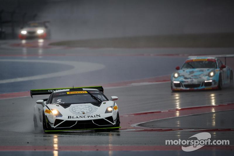 #25 Blancpain Racing Reiter Ingenieuring, Lamborghini Gallardo: Nicky Catsburg