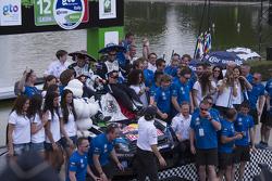 Podio WRC Mexico 2015
