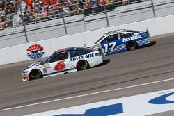 Trevor Bayne, Roush Fenway Racing Ford et Ricky Stenhouse Jr., Roush Fenway Racing Ford
