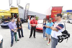 Ferrari paddock tour