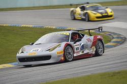 #18 Ferrari of San Francisco, Ferrari 458TPAM: James Weiland