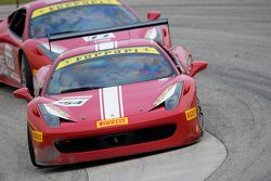 #154 Ferrari de Central Florida Ferrari 458CS: Michael Luzich