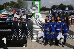 Andreas Mikkelsen et Ola Floene troisièmes, Volkswagen Polo WRC, Volkswagen Motorsport