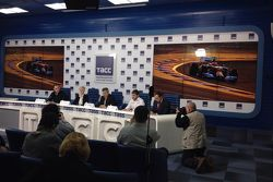 Press conference in Moscow announcing Motorsport.com - RUSSIA