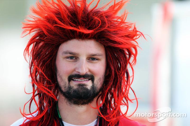 Un fan Ferrari