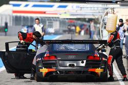 Área del equipo Belga Audi del club WRT