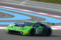 #19 GRT Grasser Racing Team Lamborghini Huracan: Mirco Bortolotti, Adrian Zaugg