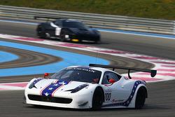 #100 DragonSpeed, Ferrari 458 Italia: Henrik Hedman, Elton Julian