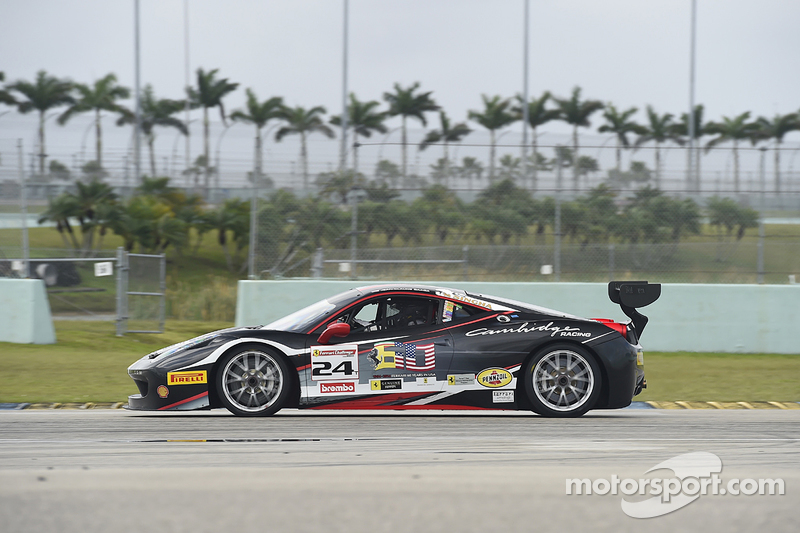 #24 Midwestern Auto Group, Ferrari 458: Mark Kvamme