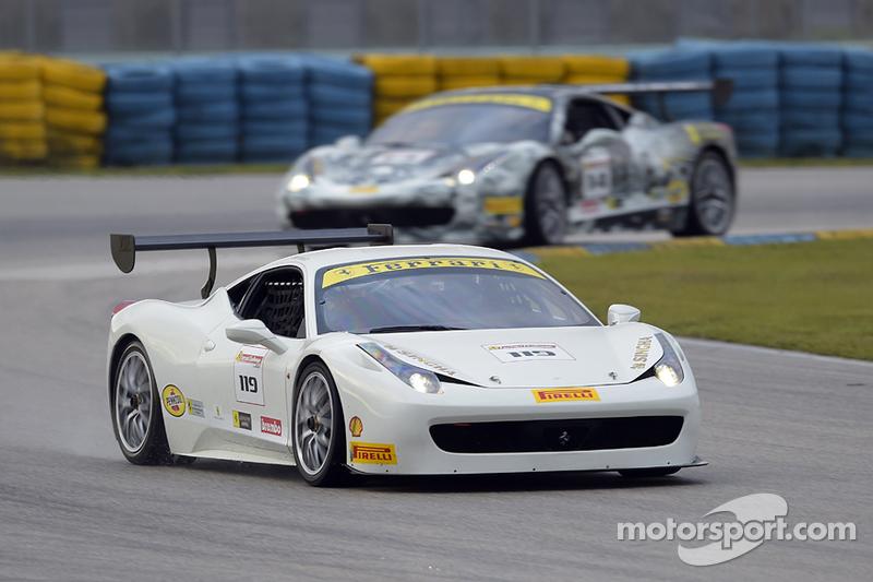#119 Ferrari of Long Island, Ferrari 458CS: Chris Cagnazzi