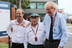 Jackie Stewart, with Ron Walker, Chairman of the Australian GP Corporation