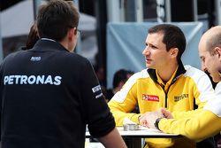 Реми Таффен, руководитель гоночной бригады Renault Sport F1