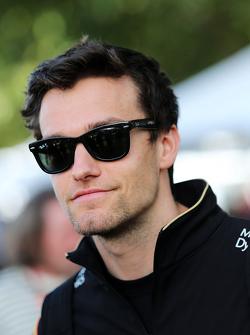 Jolyon Palmer, pilota della Lotus F1 Test Team e Reserve