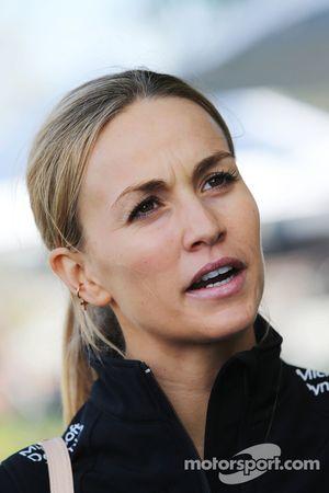 Кармен Хорда, тест-пилот Lotus F1 Team
