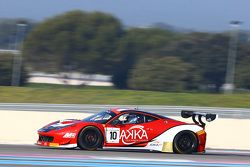 #10 Akka ASP 法拉利 458 Italia: Jean-Philippe Belloc, Christophe Bourret