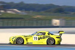 #70 俄罗斯GT车队, 梅赛德斯SLS AMG GT3: Marko Asmer, Bernd Schneider
