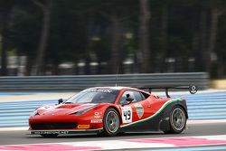 #49 AF Corse Ferrari 458 Italia: Martin Lanting, Patrick van Glabeke