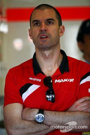 Marc Hynes, 马诺-玛鲁西亚F1车队车手指导