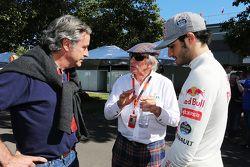 Карлос Сайнс, Джеки Стюарт, и Карлос Сайнс-младший, Scuderia Toro Rosso