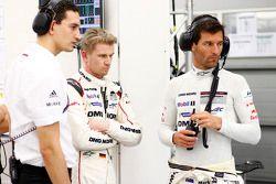 Nico Hulkenberg ve Mark Webber, Porsche Takımı