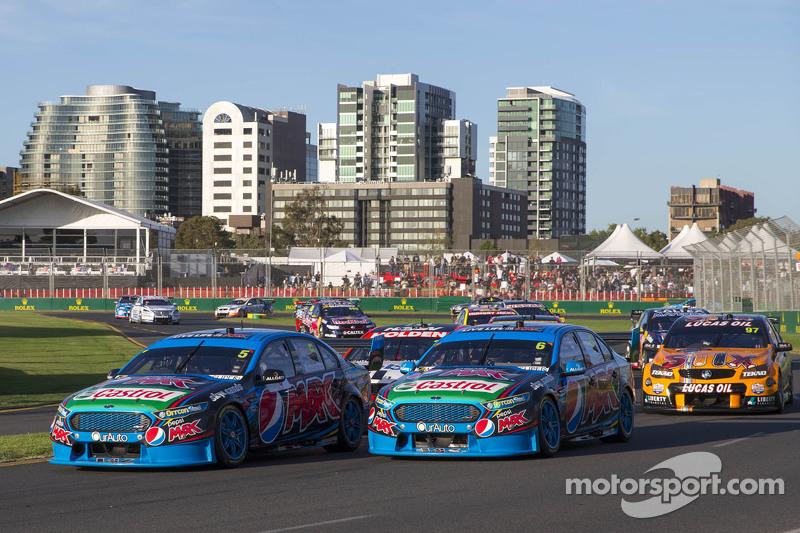 Start: Mark Winterbottom, Prodrive Racing Australia Ford