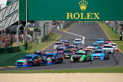 Start: Mark Winterbottom, Prodrive Racing Australia Ford