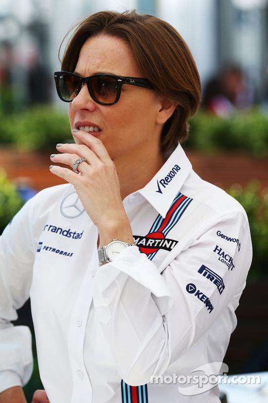 Claire Williams, Заступник керівника команди Williams
