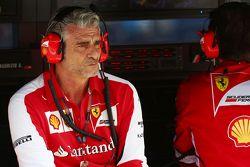 Maurizio Arrivabene, director de Ferrari