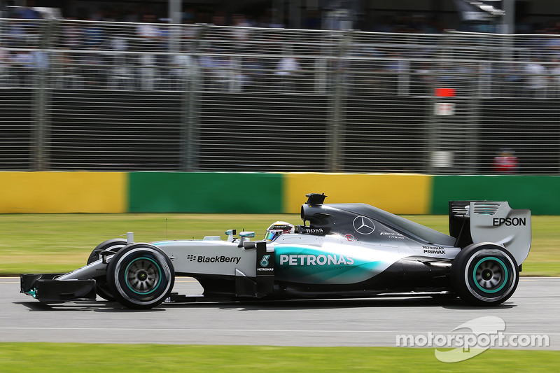Льюис Хэмилтон, Гран При Австралии-2015