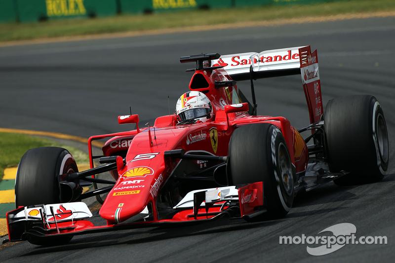 Себастьян Феттель начал выступать за Ferrari в 2015 году