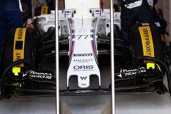 Valtteri Bottas, Williams FW37 - alerón delantero