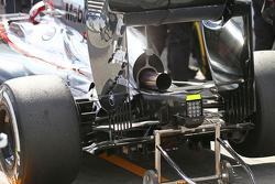 Le diffuseur de la McLaren MP4-30