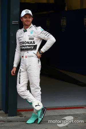 Segundo lugar, Nico Rosberg, Mercedes AMG F1