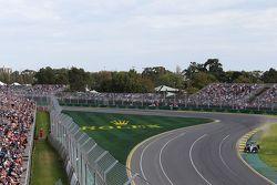 Nico Hulkenberg, Sahara Force India VJM08 F1 carrera amplia