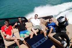 Jaime Alguersuari, Virgin Racing, Jérôme d'Ambrosio, Dragon Racing, Scott Speed, Andretti Autosport,