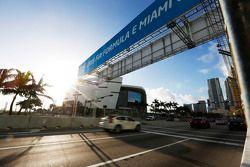Een overzicht van het Miami stratencircuit