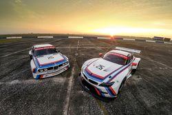 1975 BMW 3.0 CSL IMSA y 2015 Equipo RLL BMW Z4