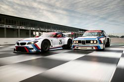 1975 BMW IMSA 3.0 CSL and 2015 Team RLL BMW Z4