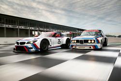 1975 BMW IMSA 3.0 CSL and 2015 Team RLL BMW Z4
